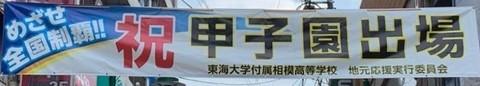 小田急相模原駅前東海大相模応援0.jpeg