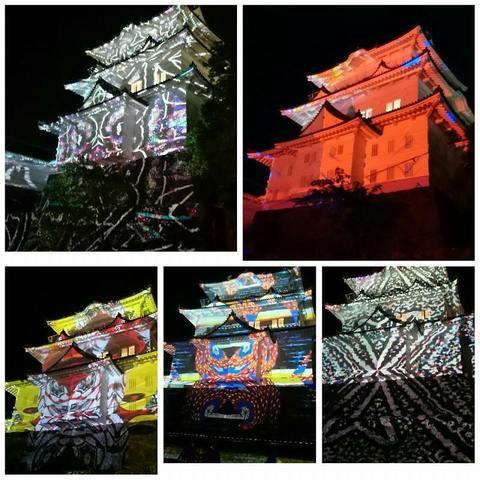 PhotoGrid_20160503小田原城プロジェクションマッピング (3).jpg