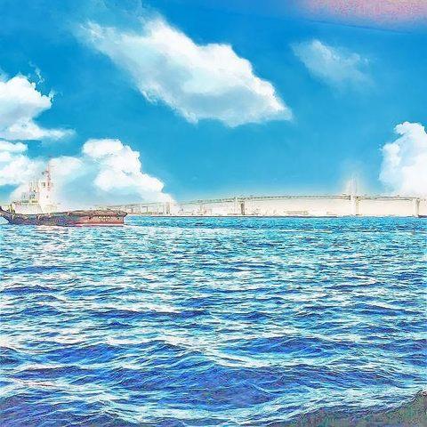 everfilter_シーバスから横浜ベイブリッジ.jpg